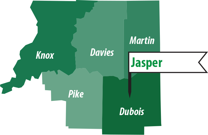 Jasper Indiana Coverage